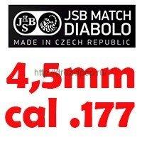 JSB 4,5мм/.177