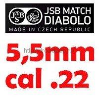 JSB 5,5мм/.22