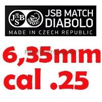 JSB 6,35мм/.25