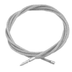 Гибкий шомпол ЧИСТОGUN для нарезных калибров, дюраль, резьба мама 8/32, длина 100 см (арт. CHS-2-100)