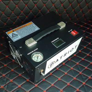Компрессор ВД Patriot compact 12/220в 300bar с блоком питания (E12) купить