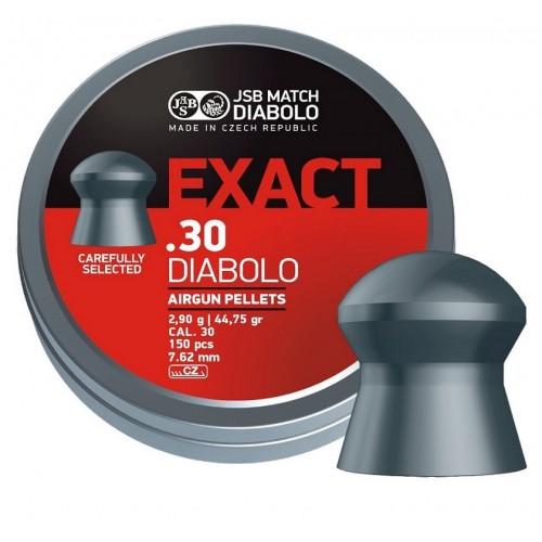 Пули JSB  «EXACT .30 DIABOLO» 2,9 г, 7,62 мм, 150 шт