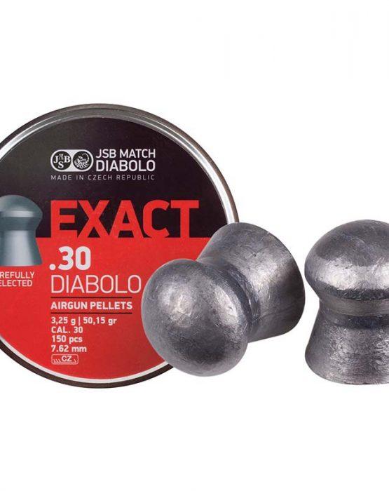 Пули JSB  «EXACT .30 DIABOLO» 3,2 г, 7,62 мм, 150 шт
