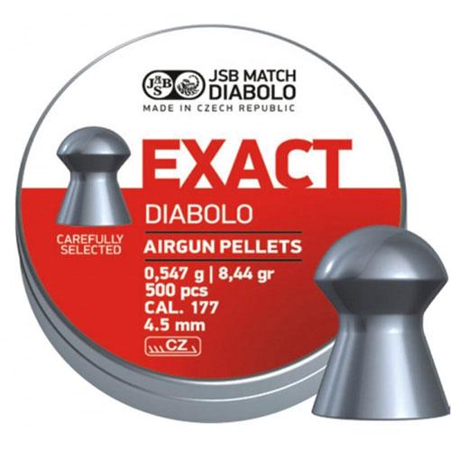 Пули JSB  «EXACT DIABOLO» 0,547гр. 4,52мм 500шт