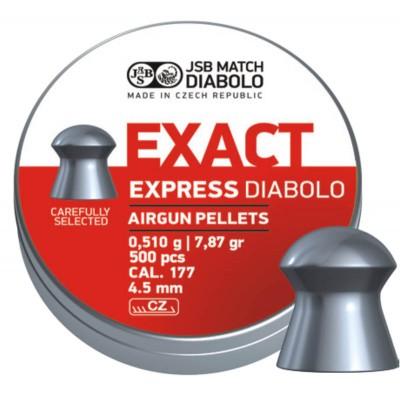 Пули JSB  «EXACT Express  DIABOLO» 0,510гр. 4,52мм 500шт