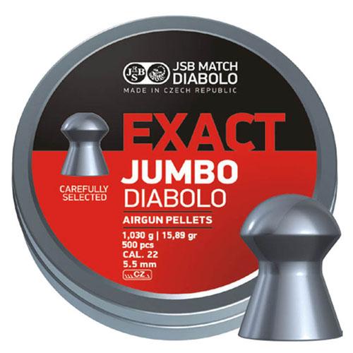Пули JSB  «EXACT JUMBO DIABOLO» 1.03г. 5,52мм  500шт