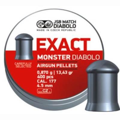 Пули JSB  «EXACT Monster DIABOLO» 0,870гр. 4,52мм 400шт