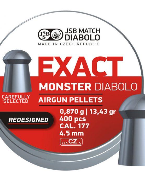 Пули JSB  «EXACT Monster Redesigned DIABOLO» 0,870гр. 4,52мм 400шт