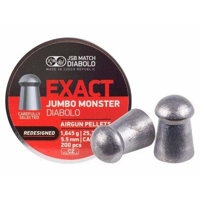 Пули JSB JUMBO Monster REDESIGNED DIABOLO 1.645гр. 5,52мм.  200шт