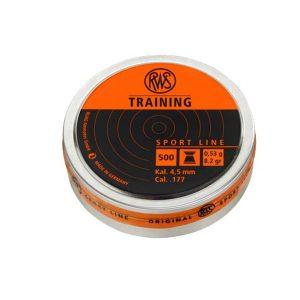 RWS training sport line 4.5 мм. 0,53 г 500шт