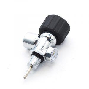 Вентиль для баллона ВД с манометром VP2M (М18x1.5, Китай)