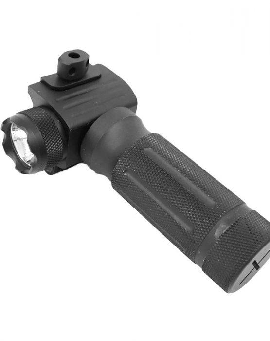 Тактическая рукоять weaver с фонарем, GREE LED (GF02)