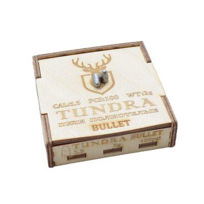 Пули полнотелые TUNDRA BULLET 5.5(5.54) 2.0г 100шт