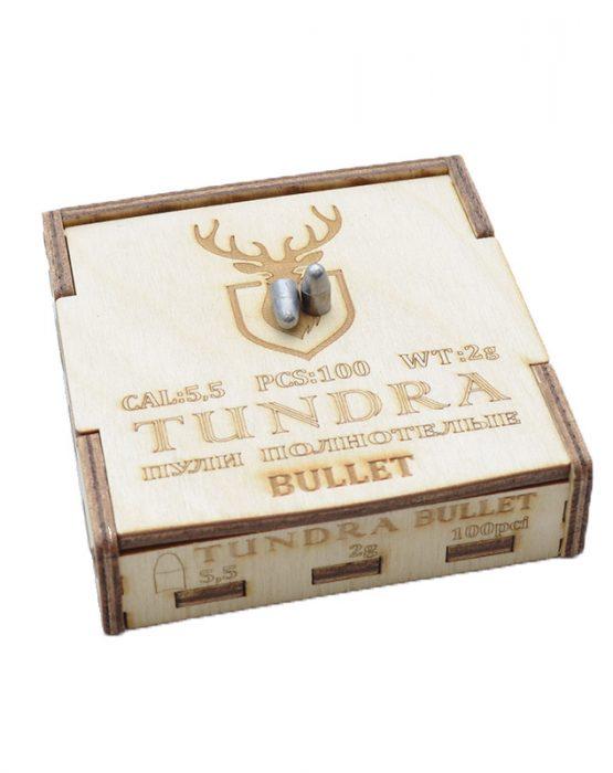 Пули полнотелые TUNDRA BULLET 5.5(5.54) 2.0г 100шт купить