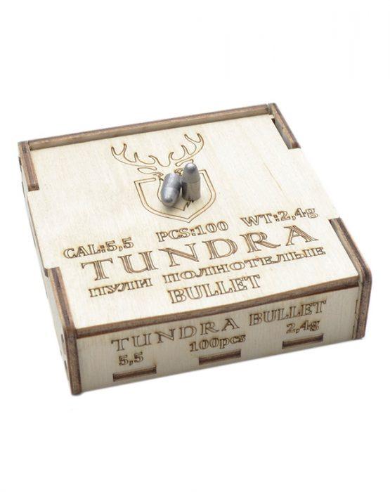 Пули полнотелые TUNDRA BULLET 5.5(5.54) 2.4г 100шт купить