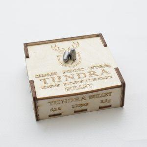 Пули полнотелые TUNDRA BULLET 6.35(6.42) 3.3г 100шт недорого