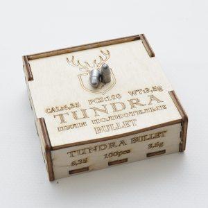 Пули полнотелые TUNDRA BULLET 6.35(6.42) 3.5г 100шт