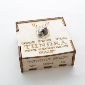 Пули полнотелые TUNDRA BULLET 7.62(7.72) 5.0г 100шт купить
