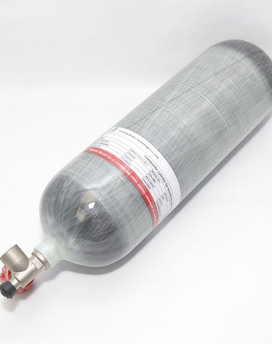 Баллон ALSAFE 6,8л 2020 / 2025г (с манометром, боковой вентиль) цена