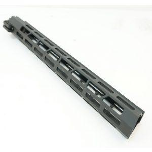 Цевье AR15  M-LOK Super Slim со стальной гайкой длина 15