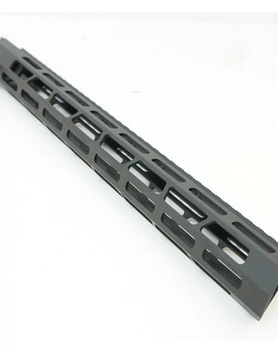 Цевье AR15  M-LOK Super Slim со стальной гайкой длина 15″/380мм (MR48)