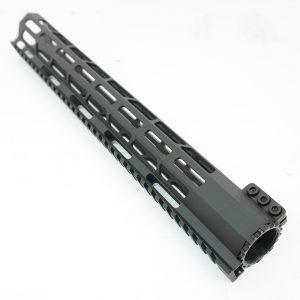 Цевье AR15  M-LOK Super Slim со стальной гайкой длина 15 купить