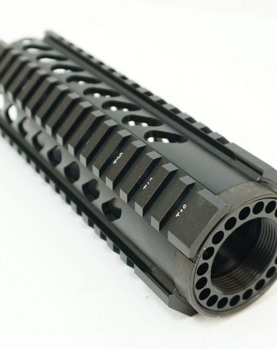 Цевье T-Serie M4/AR15/М16 длина 7″/180мм с наклонными отверстиями (MR35)