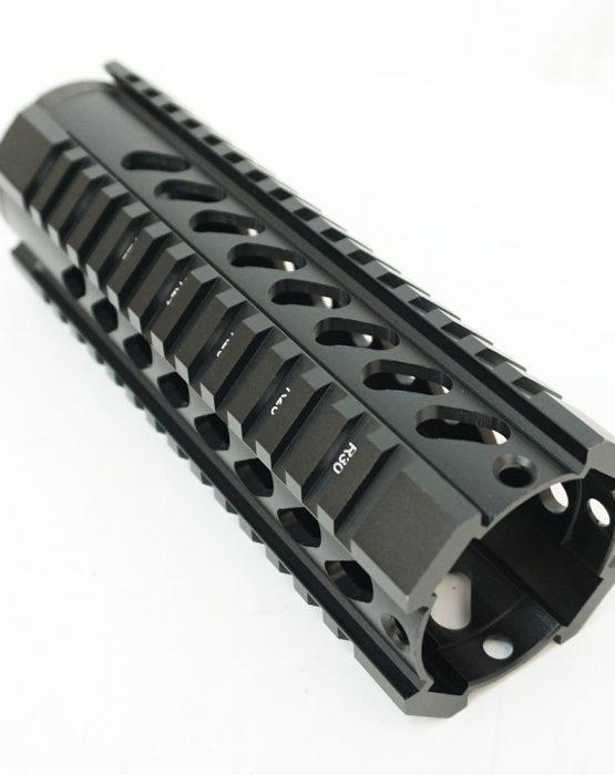 Цевье T-Serie M4/AR15/М16 длина 7″/180мм с наклонными отверстиями (MR35) купить