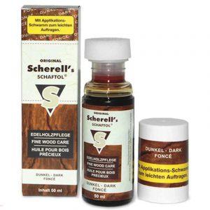 Масло для дерева Scherell`s SCHAFTOL dunkel, 50ml (коричневый)