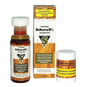 Масло для дерева Scherell's SCHAFTOL Premium Gold 50ml (золотистый)
