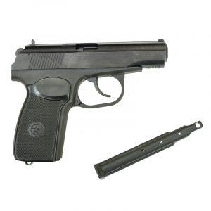 Пневматический пистолет МР-658К (с блоубэком) 4,5 мм