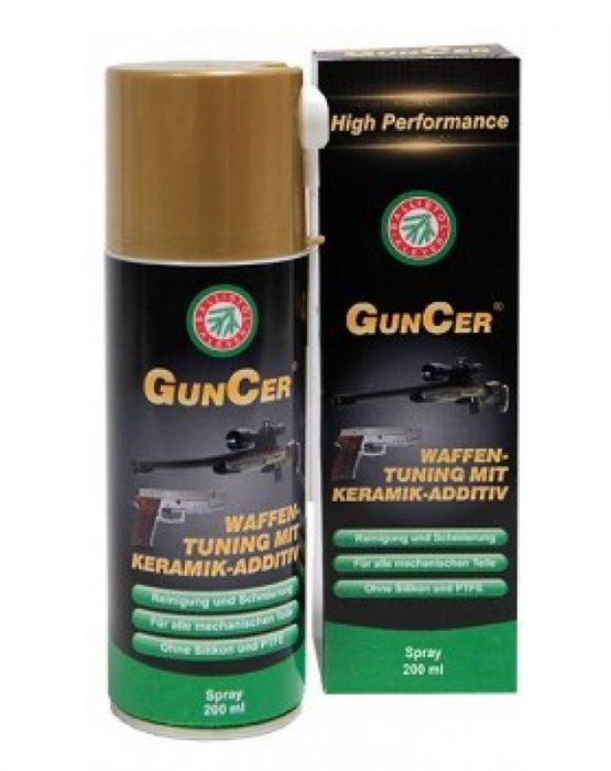 Масло оружейное GunCer Spray 200ml