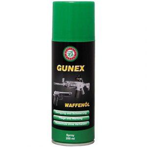 Масло оружейное Gunex Waffenol Spray, 200ml