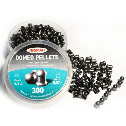 Пули «Люман» Domed pellets, 0,57 г. по 300 шт.