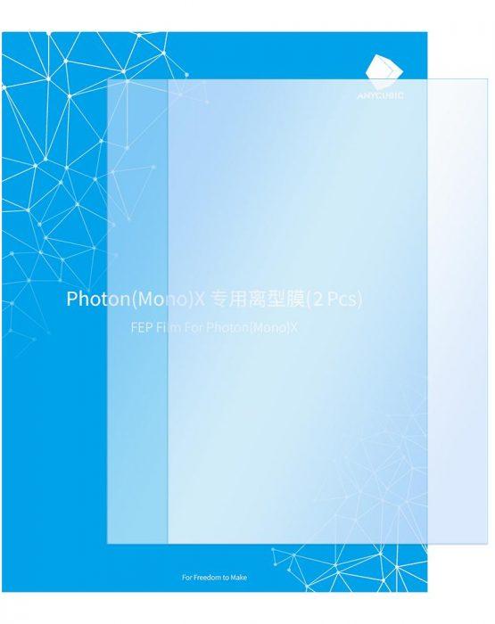 FEP пленка для фотополимерного 3D принтера Photon Mono X, Photon X (S020011)