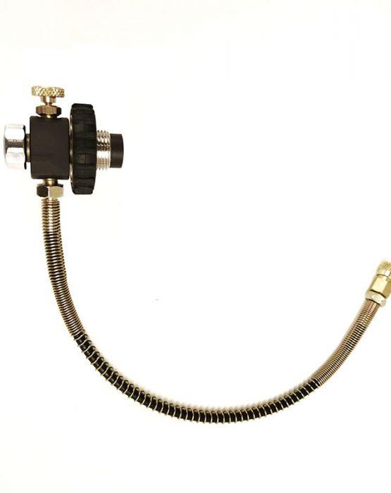 Заправочная станция DROZD c манометром, поворотная гайка(резина) (ФОСТЕР) цена