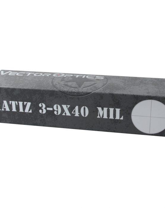 Оптический прицел Matiz 3-9x40SFP MIL (SCOM-32) 6